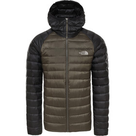 The North Face Trevail Chaqueta con capucha Hombre, new taupe green/tnf black